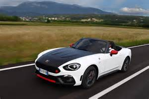 Spider Abarth Abarth 124 Spider Pricing Announced 100 To Be