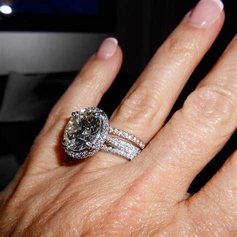 large rings wedding promise