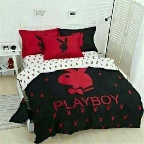 playboy bedroom set ขาย ช ดผ าป ท นอน ลาย playboy ในราคา 890 ซ อได ท