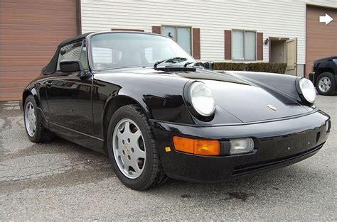 porsche 911 convertible black porsche 1991 911 convertible black 62000 forza