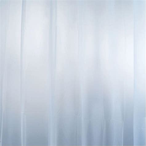 blue shower curtain liner interdesign eva shower curtain liner in mist blue 14754