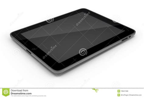 tablet pc ipad isolated  white background editorial
