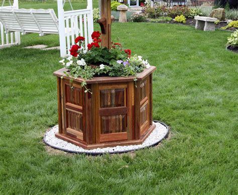 Well Planter by Wishing Well Style Planter By Knifeblock Lumberjocks