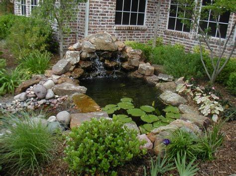 Garten Gestalten Teich by Teich Mit Wasserfall 31 Tolle Bilder Archzine Net