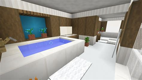 minecraft bathroom interior design youtube