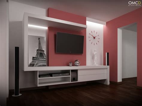Tv Cabinet Design by Tv Cabinet Omcd Architects