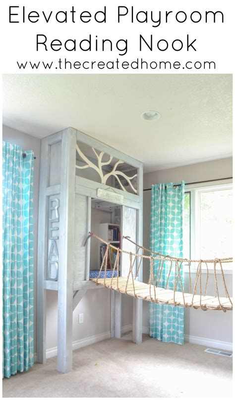 build  elevated reading nook remodelaholic