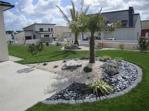 Jardin Avec Cailloux Blanc by Cailloux Blanc Jardin Maison Design Apsip