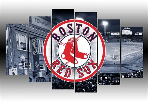 Boston Red Sox Home Decor boston red sox wall art canvas prints geek paintings