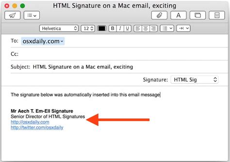 optimizing and troubleshooting outlook for mac os x intermedias outlook 2016 email signature html phpsourcecode net