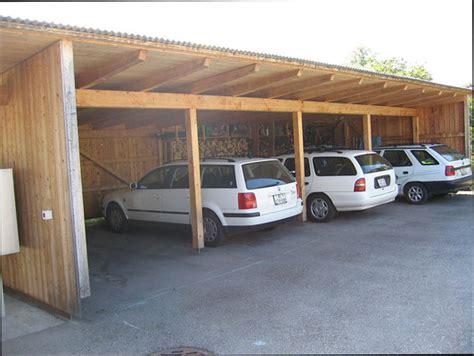 autounterstand bauen autounterstand klimaholzhaus bauen mit dem profi aus dem