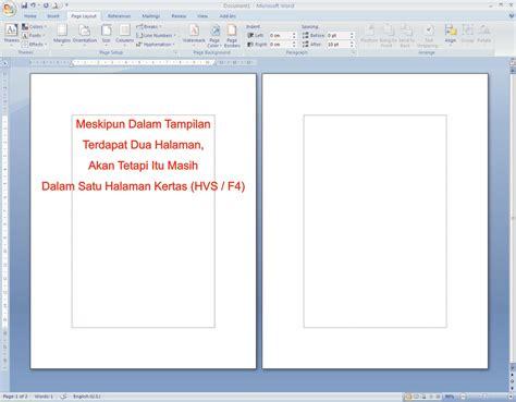 cara membuat novel atau buku cara membuat buku lipat atau book fold pada ms office