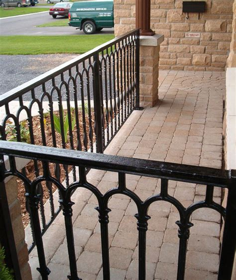 Cast Iron Balusters Replace Half Wall With Railing Balusters Staircase