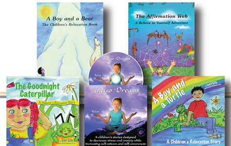 stress free kids books books and cd set help children reduce stress and anger