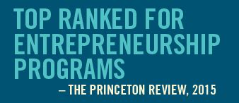 Babson College Entrepreneurship Mba Ranking by Top College For Entrepreneurship By Princeton Review