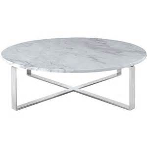 rosa modern coffee table white
