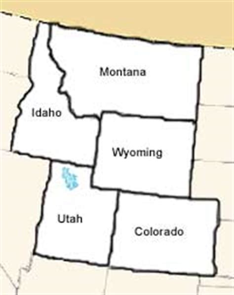 printable map rocky mountain states regions of the us mrs kubo s class