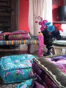 Bohemian Floor Cushions Indian Cushions Decor