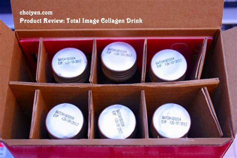 Total Image Collagen Drink product review total image collagen drink mimi s dining