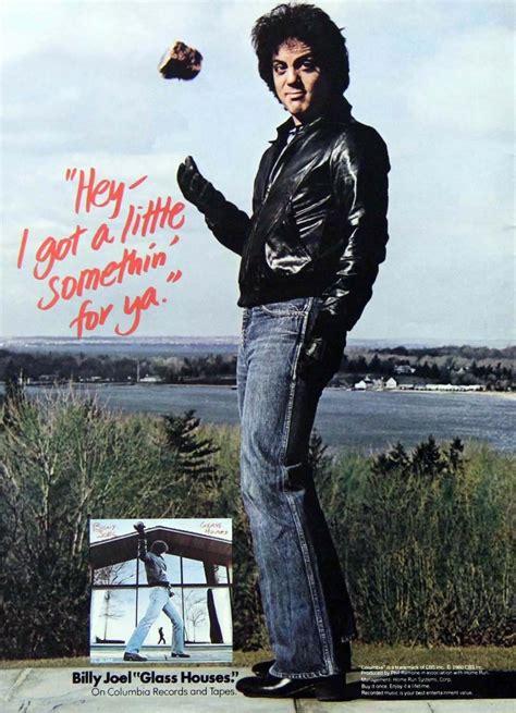 billy joel fan glass houses 1980 one serenade the songs of