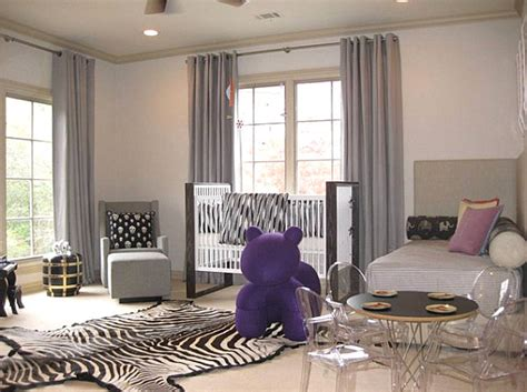 superior Dining Room Art Ideas #3: Modern-nursery-with-bed.jpg