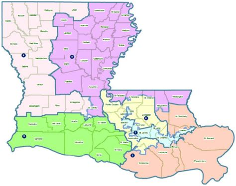 louisiana demographic map redistricting new congressional maps pass in ar la