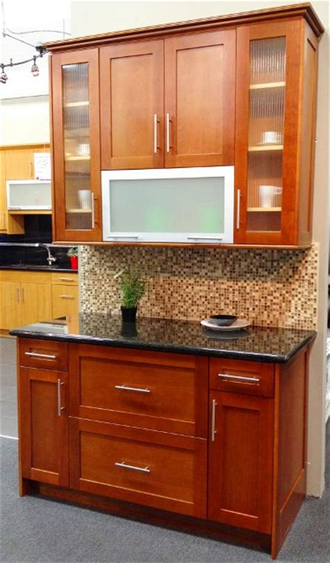 cherry shaker kitchen cabinets photo album