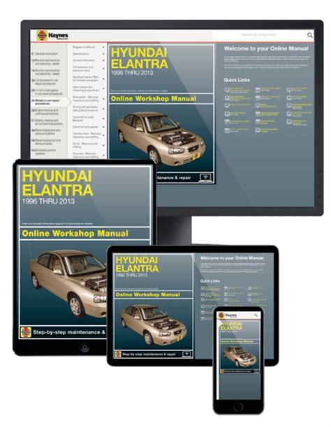 online auto repair manual 2013 hyundai elantra navigation system hyundai elantra online service manual 1996 2013