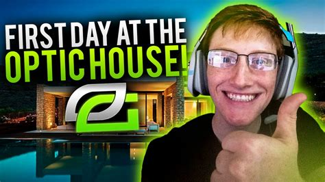 optic house first day at the optic house youtube