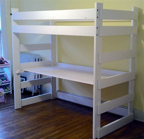 double loft bed with desk mid south bunk beds memphis tn bunk bed gallery all