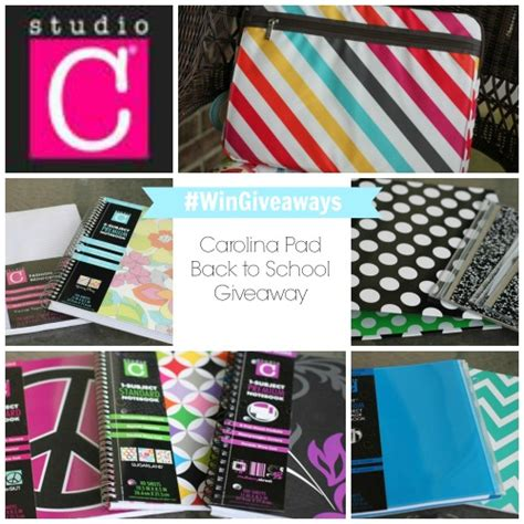 School Supplies Giveaway Near Me - carolina pad innovative school and office supply designs back to school giveaway