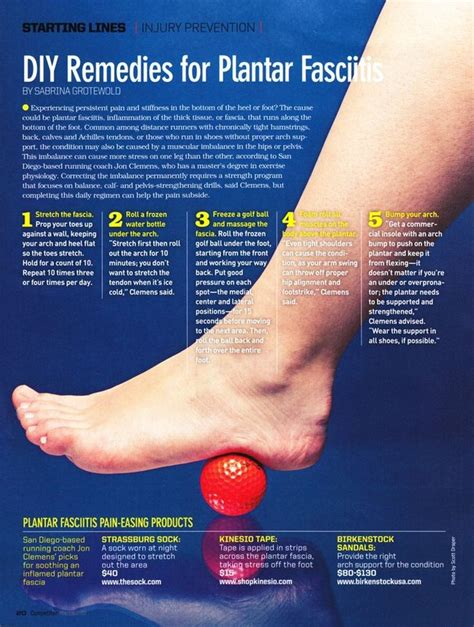 14 best plantar fasciitis exercises images on pinterest