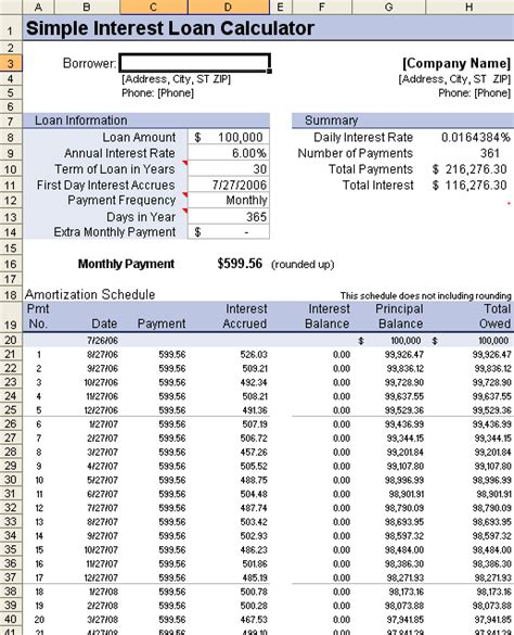 Mortgage Amortization Schedule Excel Template by Loan Amortization Schedule And Calculator