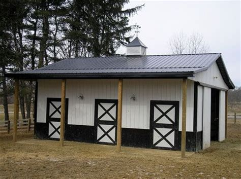 Smith Built Shed by Small Horse Barns Barn Amp Stable Ideas Pinterest