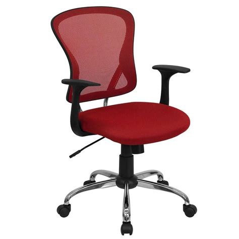 red office desk chair red office chairs as stunning furnishing