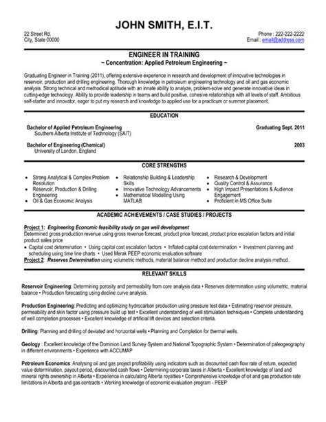 Engineering Resume Templates by Engineer Resume Template Premium Resume Sles