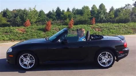 mazda convertible black sold 2004 mazda miata mx 5 convertible black cherry auto 1