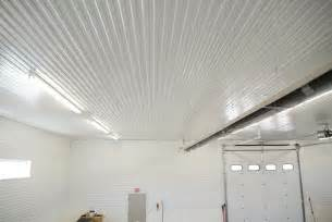 corrugated metal ceiling garage www imgkid the