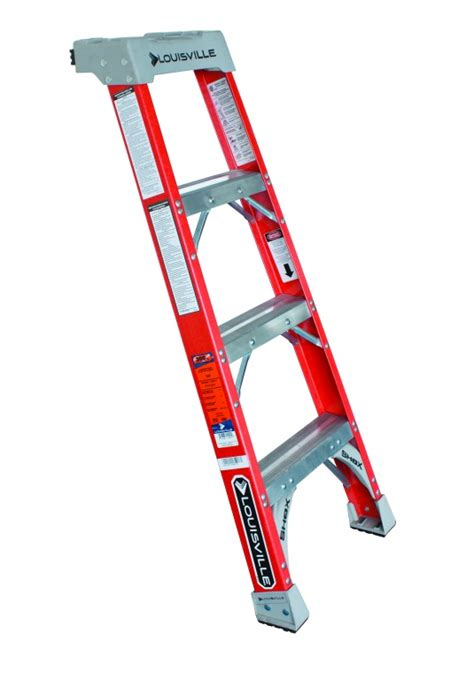 Glass Ladder Shelf by Glass Fibre Pro Shelf Ladder