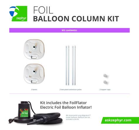 Column Kit Foil Balloon Column Kit From Zephyr Solutions