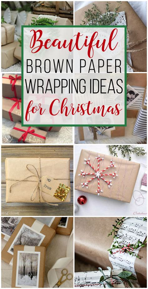 brown christmas gifts 15 brown paper wrapping ideas for unoriginal