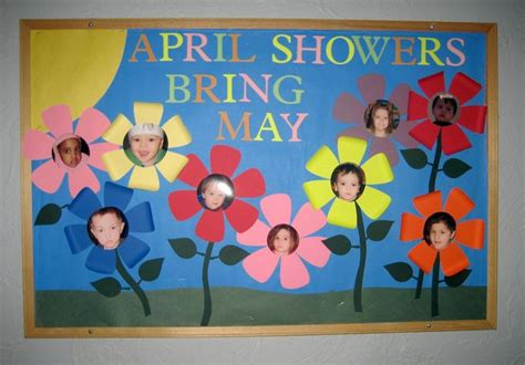 kindergarten themes for april and may preschool bulletin board ideas treasures of the heart