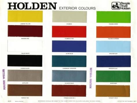 13 best holden hq colours images on colours