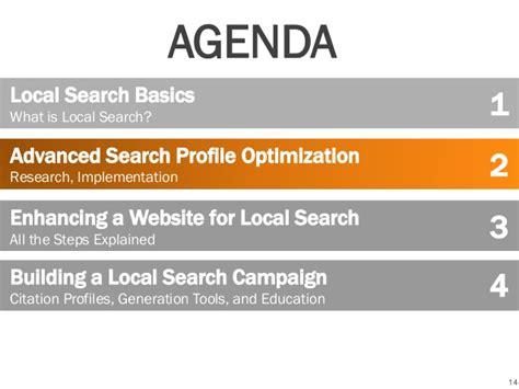 local search social media breakfast presentation local search 1