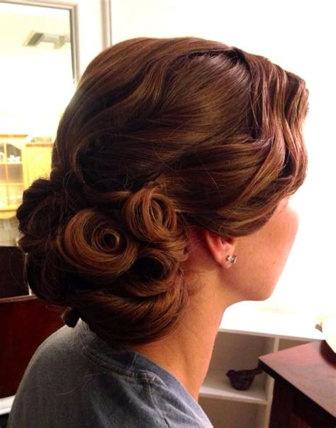 pin by jphill on hairstyles hair pinterest hair style best 25 pin curl updo ideas on pinterest rockabilly