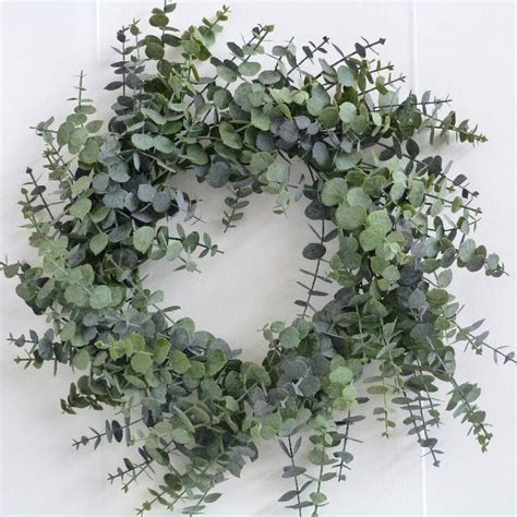 christmas wreath 60cm spiral eucalyptus wreath 163 20 99