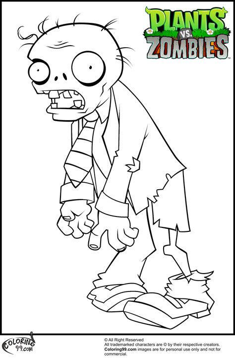 plants vs zombies coloring pages team colors