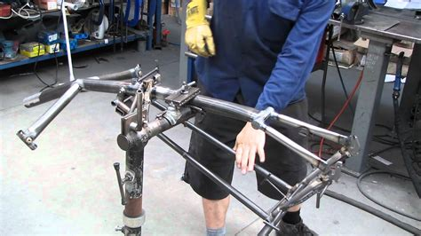 Building A Frame by Building A Recumbent Tricycle Frame Part 2