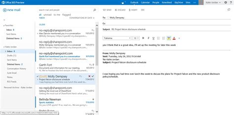 Office 365 Outlook Email Microsoft Exchange San Antonio Schertz Cibolo