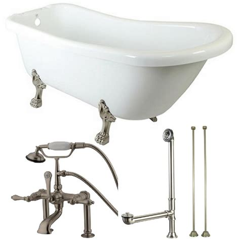 Home Depot Clawfoot Tub Faucet by Clawfoot Bathtub Faucet